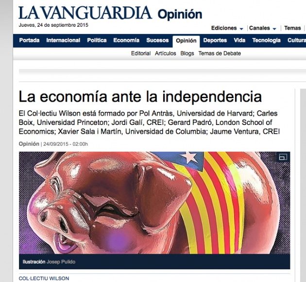 The economy in the face of independence
