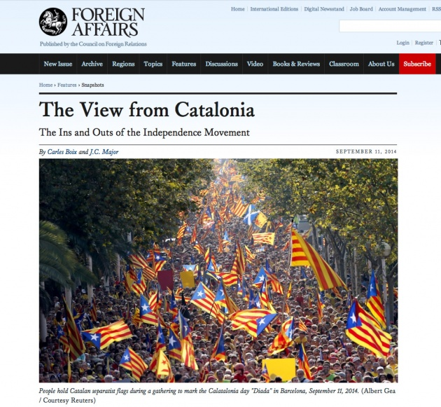 The View from Catalonia